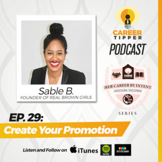 Create Your Promotion w/ Sable B.
